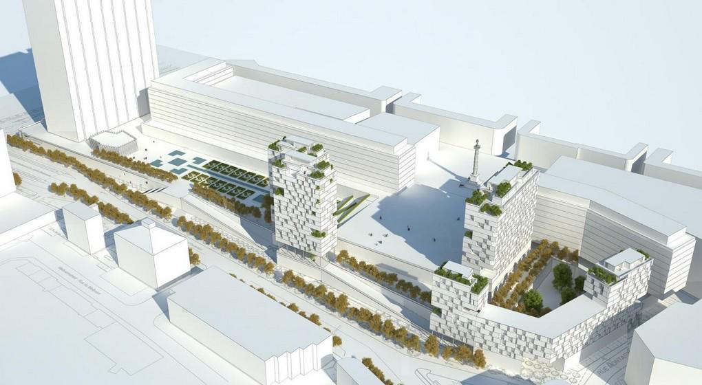 Cité Administrative Bruxelles - Archi 2000
