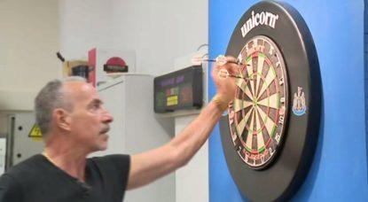 Darts Fléchettes - Championnat bruxellois Etterbeek - BX1