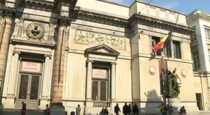 Drapeaux en berne Notre-Dame - Musées royaux des Beaux-Arts