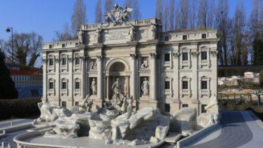 La Fontaine de Trevi débarque à Mini-Europe