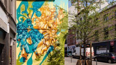Un parcours street art à Bruxelles pour les 450 ans de la mort de Bruegel
