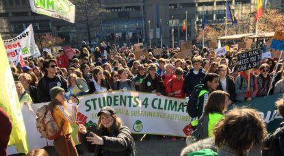 Manifestation Marche pour le climat - Jean-Christophe Pesesse BX1 - 11042019
