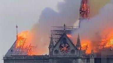 """Incendie à Notre-Dame de Paris : Charles Michel exprime son """"soutien à nos amis français"""""""