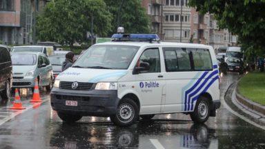 Woluwe-Saint-Lambert : du cannabis et des objets volés retrouvés sur un motard sans permis