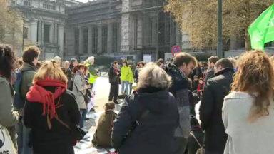 Une centaine de personnes soutiennent le militant anti-TTIP poursuivi devant le tribunal