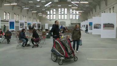 Ixelles : une ancienne caserne devient le plus grand site occupé temporairement de Belgique