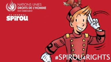 """""""Spirou4rights"""": une exposition itinérante consacrée à la défense des droits de l'Homme fait halte à l'Atomium"""