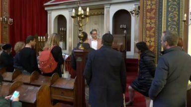 Pour la journée du dialogue, des visites guidées des différents lieux de culte de Bruxelles