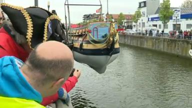 Anderlecht : le bateau La Licorne a été mis à la mer