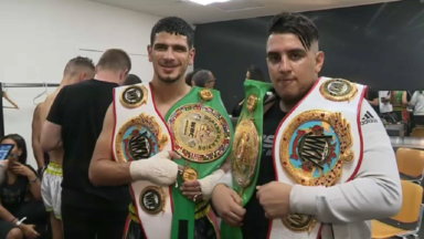 Les frères Boughanem repartent avec la ceinture mondiale de boxe thaï