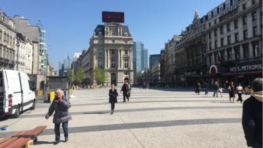 Les travaux Place De Brouckère sont officiellement terminés