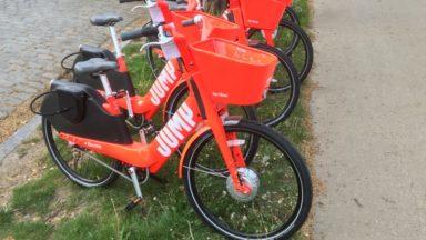 Jump : les vélos électriques partagés d'Uber débarquent à Bruxelles