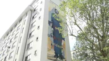 Bruxelles-Ville : une fresque pour commémorer les 25 ans du génocide rwandais
