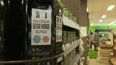 L'huile d'olive vierge ne peut être vendue en vrac