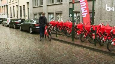 Les vélos partagés Jump illégaux