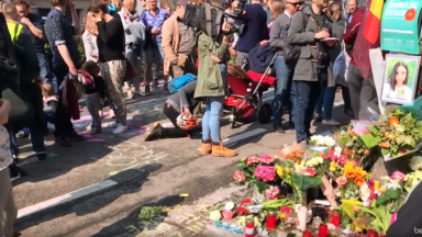 Koekelberg : des dizaines de personnes réunies pour rendre hommage à Dariana, fauchée sur un passage piéton