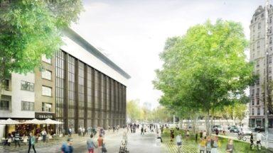 Les Bruxellois invités à donner leur avis sur le réaménagement de la place Sainctelette
