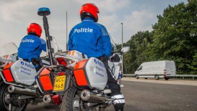 Schaerbeek : un motard flashé à 78 km/h dans une zone 30