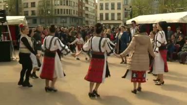 Le Printemps roumain rassemble la communauté roumaine dans les rues de Bruxelles
