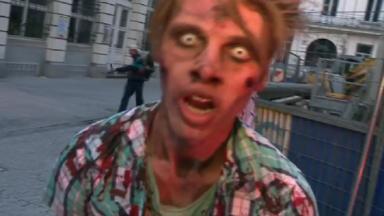 BIFFF : Les zombies ont envahi le centre de Bruxelles, transformé en zone post-apocalyptique pour l'occasion