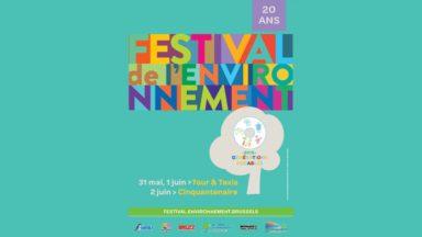 Le festival de l'environnement fête ses 20 ans ce week-end à Bruxelles