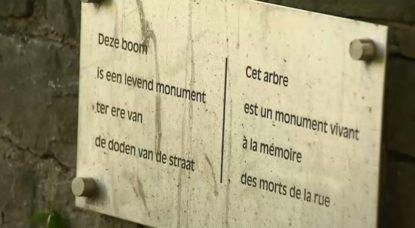 Arbre Morts de la rue - Hommage Sans-abris décédés - BX1