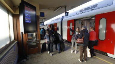 Grève à la SNCB : la moitié des trains circulent comme annoncé