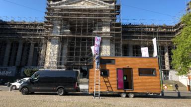 Élections 2019 : la caravane passive de BX1 a fait escale place Poelaert
