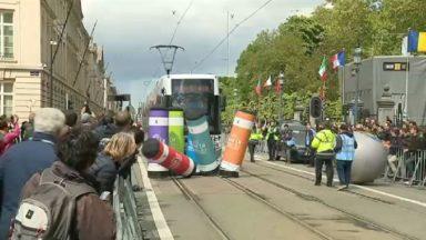 Des conducteurs de tram venus de toute l'Europe se sont affrontés lors d'un championnat à Bruxelles