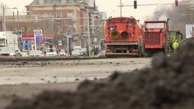 Les travaux de réasphaltage s'enchaînent sur les routes bruxelloises en vue du Tour de France