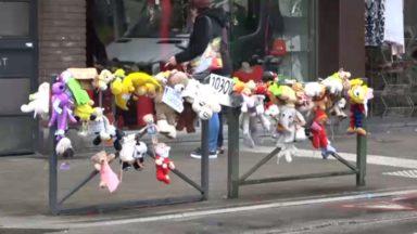 Schaerbeek : des doudous sur la chaussée d'Helmet pour la petite fille blessée par une voiture