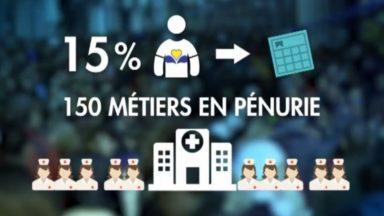 Infirmier, l'un des nombreux métiers en pénurie à Bruxelles : comment faire face à ce manque ?