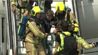Exercice catastrophe à grande échelle à Brussels Airport