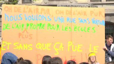 Molenbeek : plus de 70 écoles chantent, dansent et pique-niquent pour un air plus pur