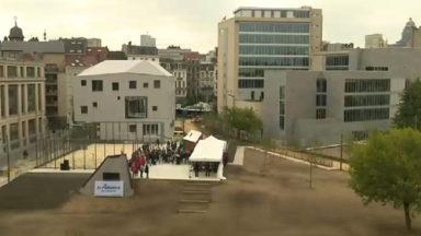 """Le projet """"Fontainas"""" inauguré : espaces verts, logements, salle de sport et horeca dans le centre-ville"""