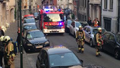 Fuite de gaz hier soir dans la rue Felix Delhasse à Saint-Gilles