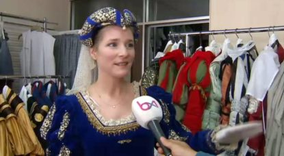 Natacha Regnier - Ommegang Costume