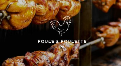 Poule et Poulette - Illustration
