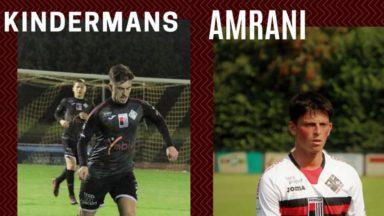 Le RWDM annonce les départs de Kindermans et Amrani