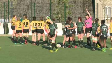 Rugby féminin : les Schaerbeekoises se sont inclinées 24-7 face à Dendermonde