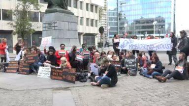 Sit-in à Bruxelles pour réclamer un refinancement de l'enseignement supérieur
