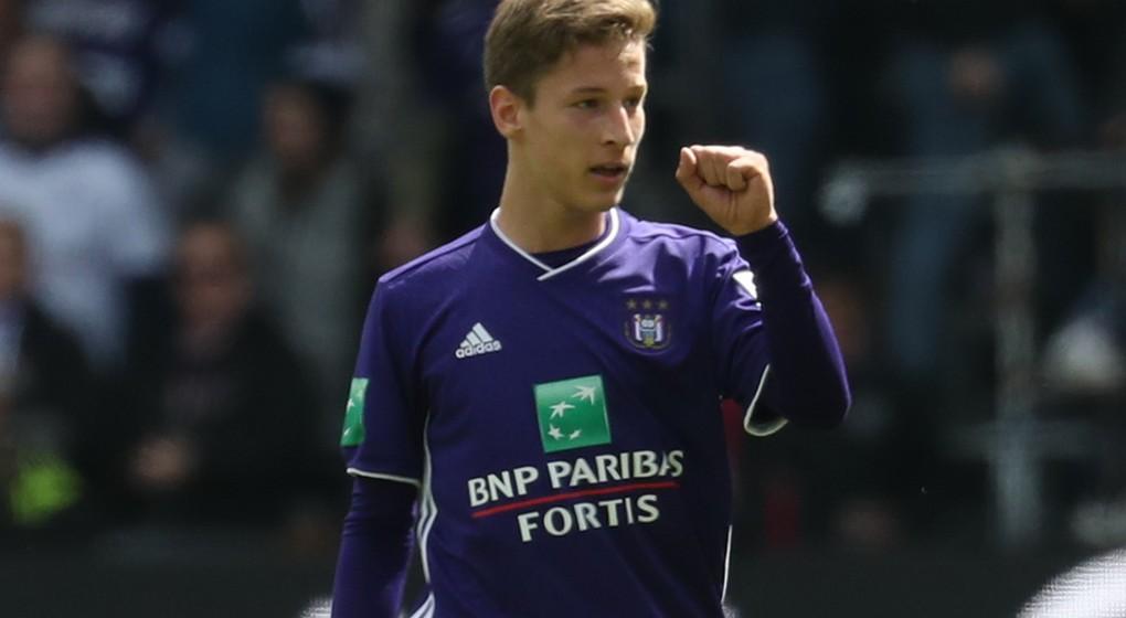 Yari Verschaeren - RSC Anderlecht - Belga Virginie Lefour