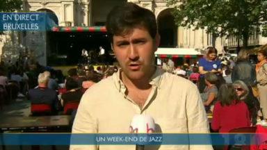 Coup d'envoi du Brussels Jazz Weekend