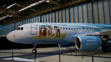 Brussels Airlines met Bruegel à l'honneur sur son 6e avion aux couleurs de la Belgique