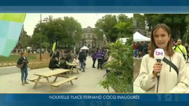 Ixelles : inauguration en grande pompe de la nouvelle place Fernand Cocq