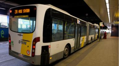 """De Lijn ne desservira pas la Gare du Nord sans une """"solution structurelle"""""""