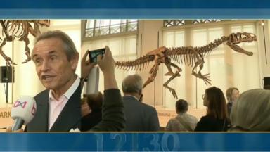 Le Musée des Sciences naturelles accueille un dinosaure de 8,70 mètres de long