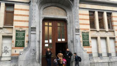Ecole n°1 de Schaerbeek : une rentrée calme et sans incident ce lundi matin après les débordements de la semaine passée