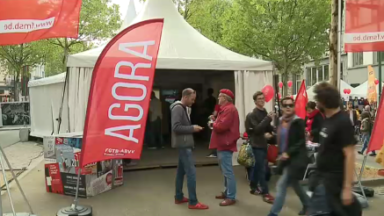 FGTB : La place Rouppe en fête pour le 1er mai