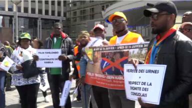 """Bruxelles : La diaspora congolaise appelle l'Europe à """"respecter le strict choix du peuple congolais"""""""